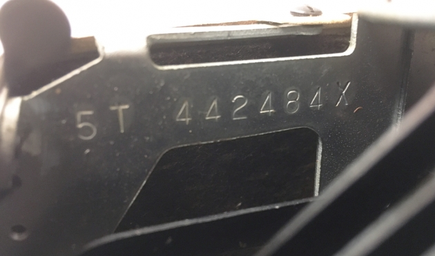 """Smith Corona """"Silent Super"""" serial number location..."""