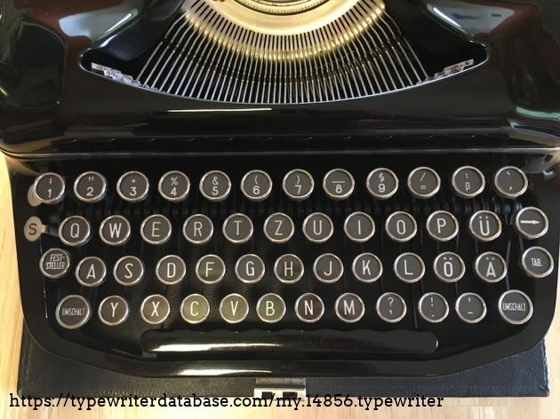 Erika RSM 8 #1179656# - Keyboard