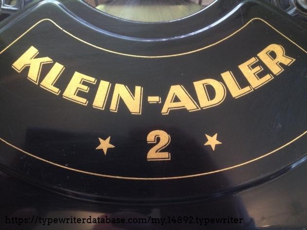 Adler - Klein Adler 2 #365753# - Decal center