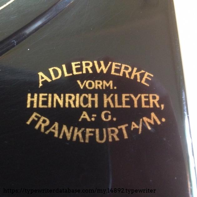 Adler - Klein Adler 2 #365753# - Decal right