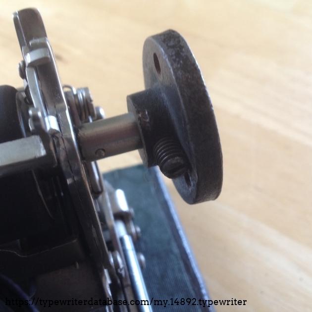 Adler - Klein Adler 2 #365753# - Alternativ platen knob