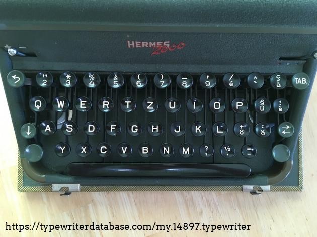 TWDB - HERMES 2000 #2006999# - Keyboard