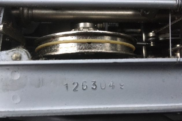 """Olympia """"SM3"""" serial number location..."""