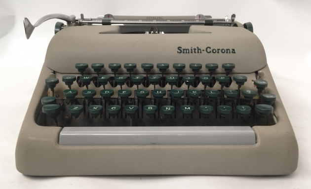 """Smith Corona """"Sterling""""  from  the front...."""