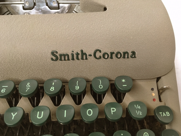 """Smith Corona """"Sterling""""  from  the maker logo on the right side...."""
