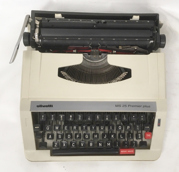 "Olivetti ""MS 25 Premier plus"" from the top..."