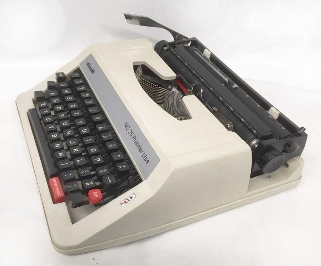 "Olivetti ""MS 25 Premier plus"" from the right side..."