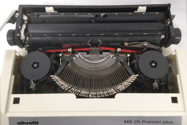 "Olivetti ""MS 25 Premier plus"" from under the hood..."