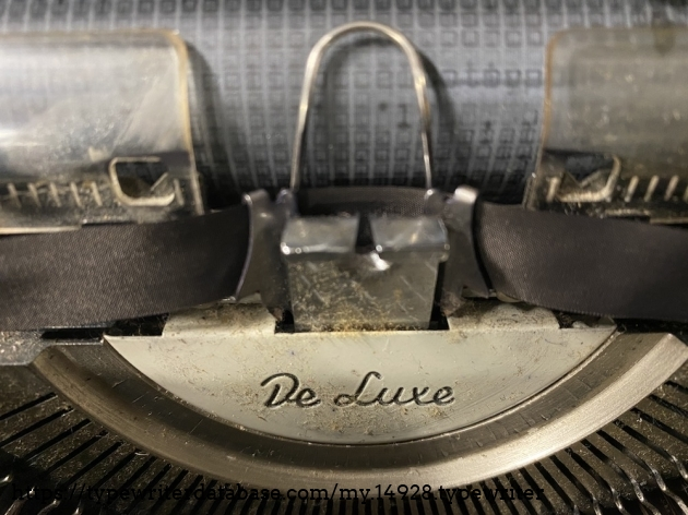 Many letters have been typed here.