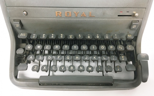 """Royal """"HH"""" from the keyboard..."""