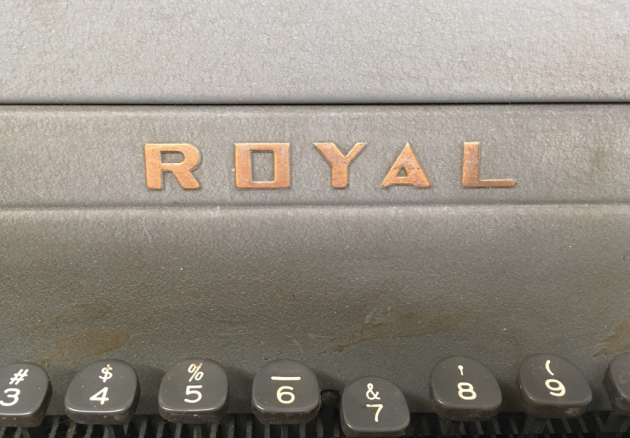 """Royal """"HH"""" from the logo on the front..."""