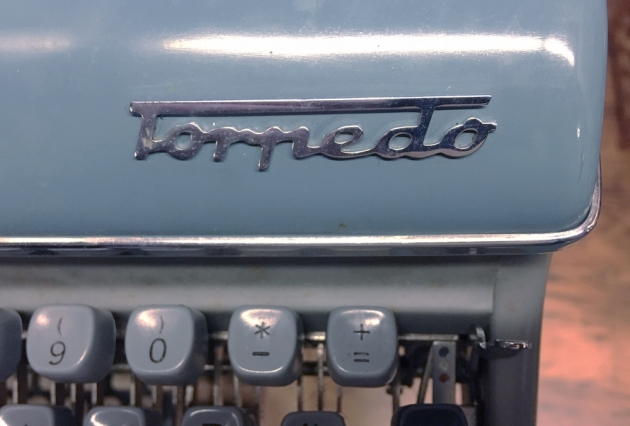 """Torpedo """"18b"""" from the logo on the top..."""