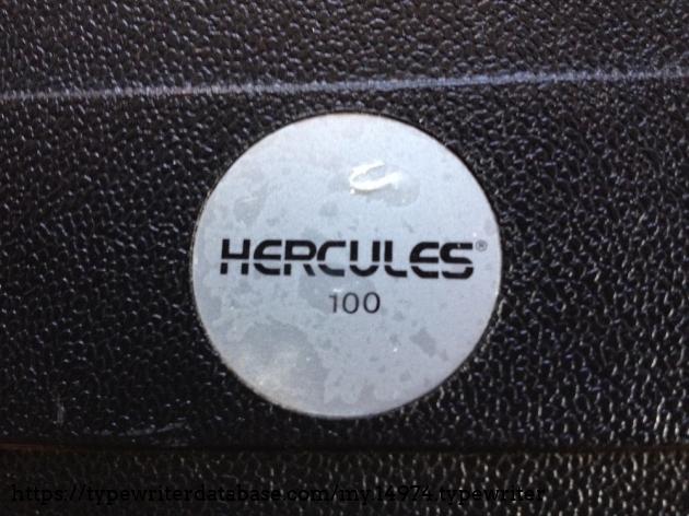 TWDB - Hercules 100 #2159180 R# - Logo