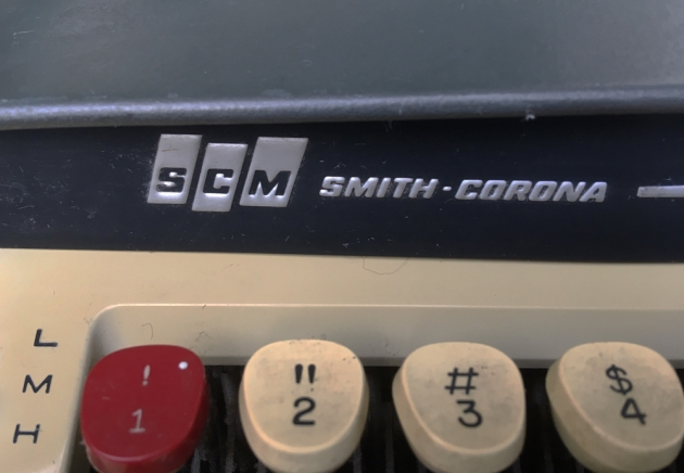 "Smith Corona ""Galaxie II""  from the maker logo on the front..."