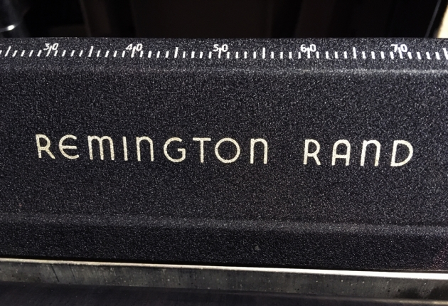 """Remington """"Noiseless 7"""" from the logo at the top..."""