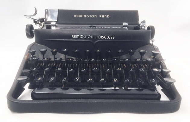 """Remington """"Noiseless 7"""" from the  front..."""