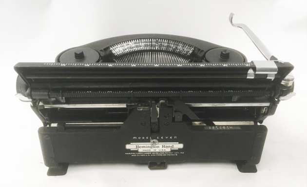 """Remington """"Noiseless 7"""" from the  back..."""