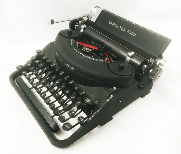 """Remington """"Noiseless 7"""" from the  right side..."""