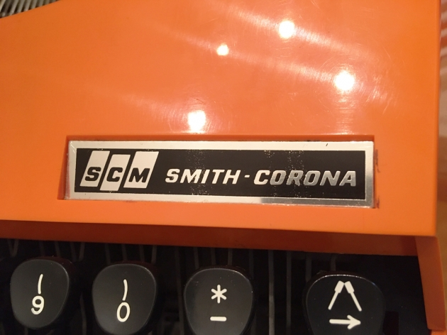 """Smith Corona """"Super G"""" from the  logo on the front..."""