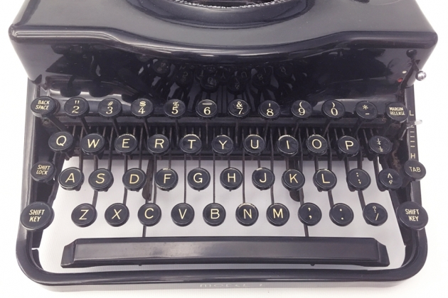 """Remington """"Model 1"""" from the keyboard..."""
