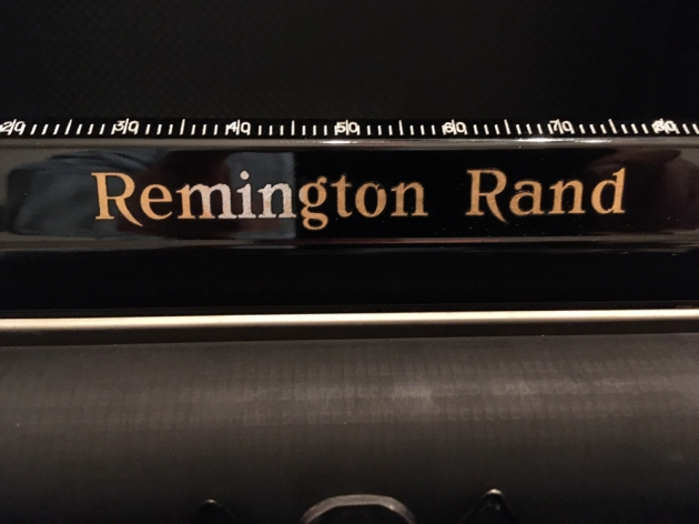"""Remington """"Model 1"""" from the logo on the top..."""