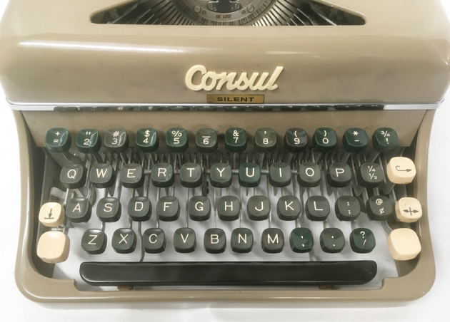 "Consul ""Silent"" from the keyboard..."