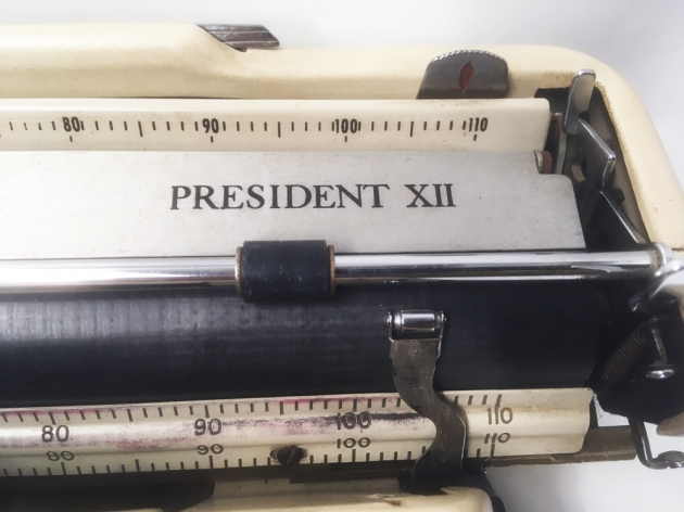 """Tower """"President XII""""  from the model logo on the top..."""