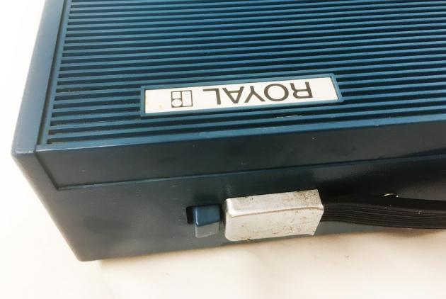 "1970 Royal ""(Silver-Seiko) Sprite""  case/travel case (detail)..."