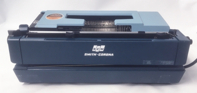 """Smith Corona """"Sterling Cartridge""""  from the back..."""