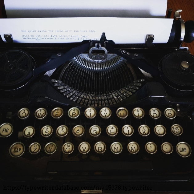 Worse things to type with. A piece of history.