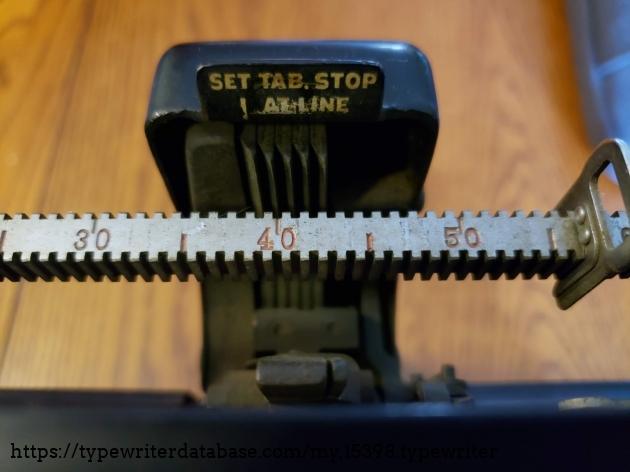 Decimal tabulator