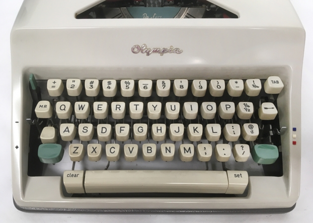 "Olympia ""SM9"" from the keyboard..."