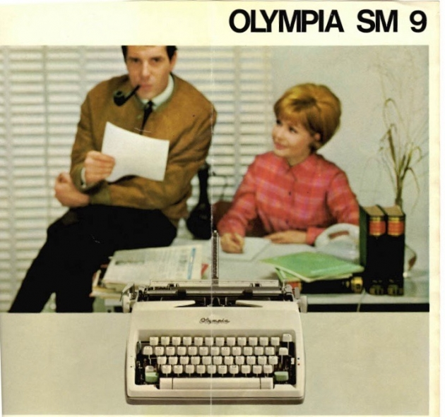 I don't own this (German) brochure,  I found it somewhere on the internet, but I think this photo is kind of priceless.