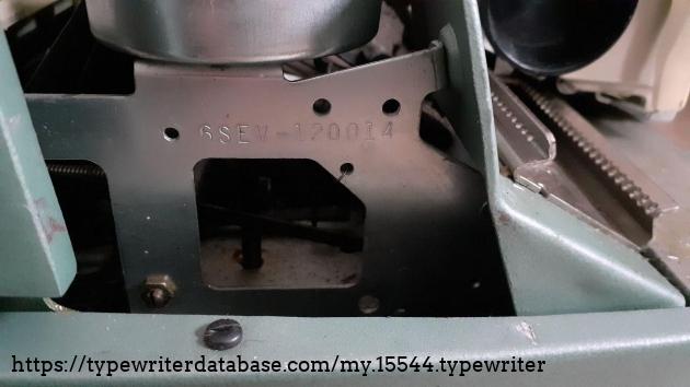 SCM Electra 110 serial number