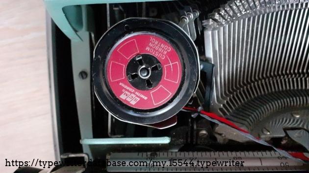 SCM ribbon spool