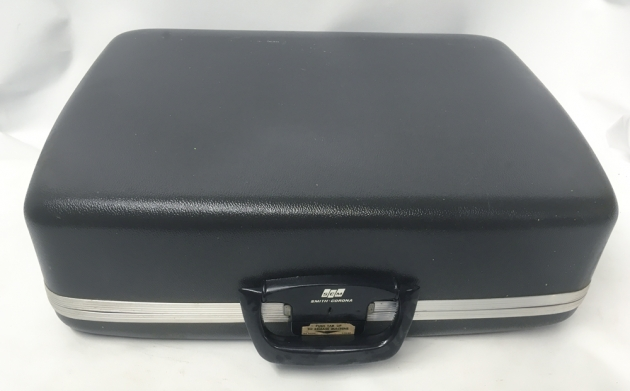 "Smith Corona ""Sterling 12"" travel case..."