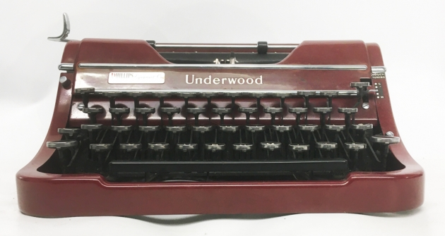"""Underwood """"Champion""""  from the front..."""
