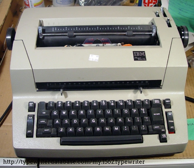 These machines are invariably this whitish color, lighter than the Beige that IBM used for factory repaints. The machine screams for a more interesting paint job, don't you think?