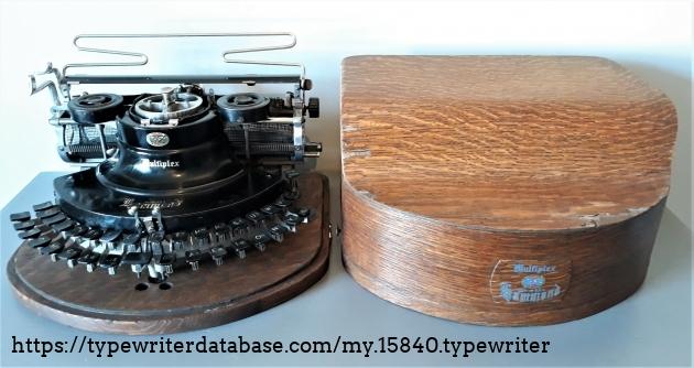 typewriter + case