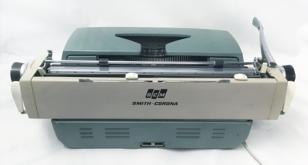 "Smith Corona ""Electra 120""  from the back..."