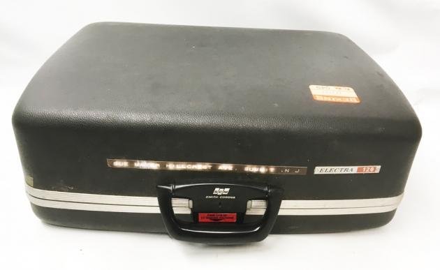 "Smith Corona ""Electra 120""  from the travel case..."