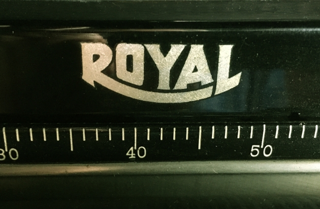 """Royal """"O"""" from the logo on the top..."""