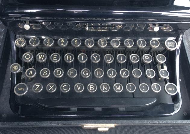 "Royal ""O"" from the keyboard..."