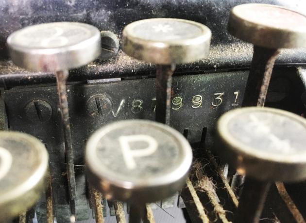 "Remington ""Model 5 Streamline"" serial number location..."