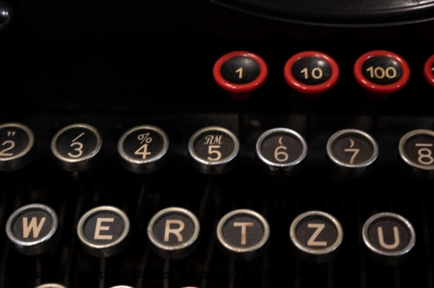 Check out that 5/Reichsmark key!