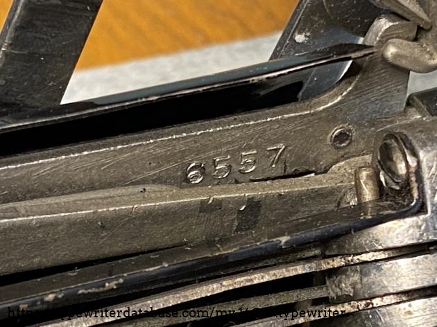 Serial 6557