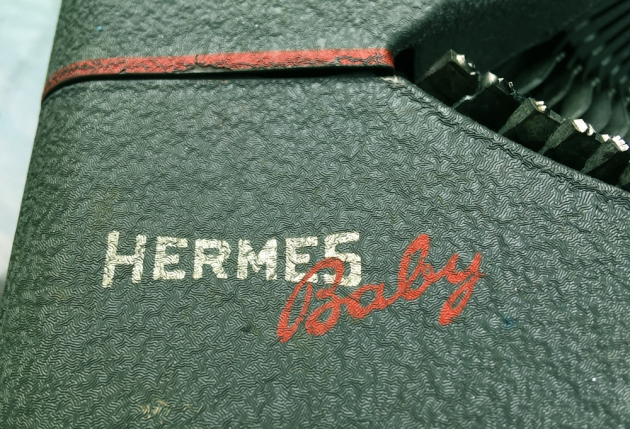 """Hermes """"Baby"""" from the logo on the top..."""
