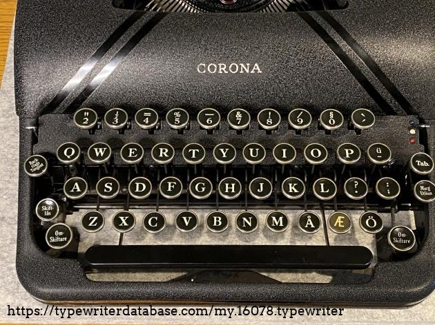 Norwegian keyboard layout