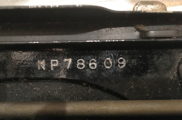 """Remington """"Portable"""" serial number location..."""