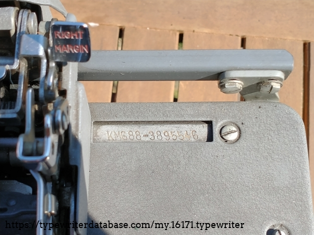 KMG serial number